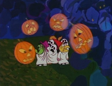 after outlasting such specials as the fat albert halloween special or halloween is grinch night the great pumpkin is now being aired next to toy story and