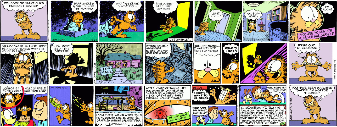 Zombie 7's Halloween Grab Bag - Series One: Garfield's Halloween ...